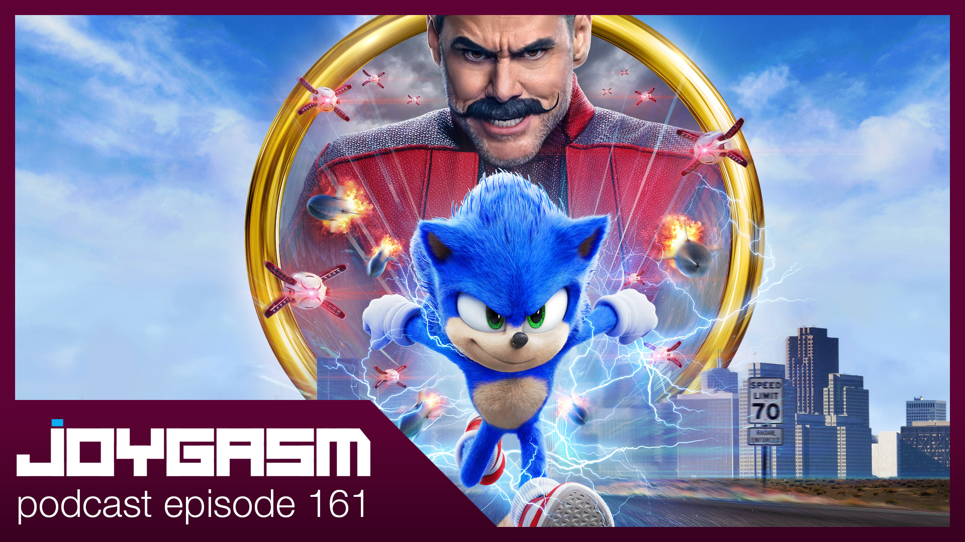 Ep. 161: Sonic The Hedgehog Movie Review
