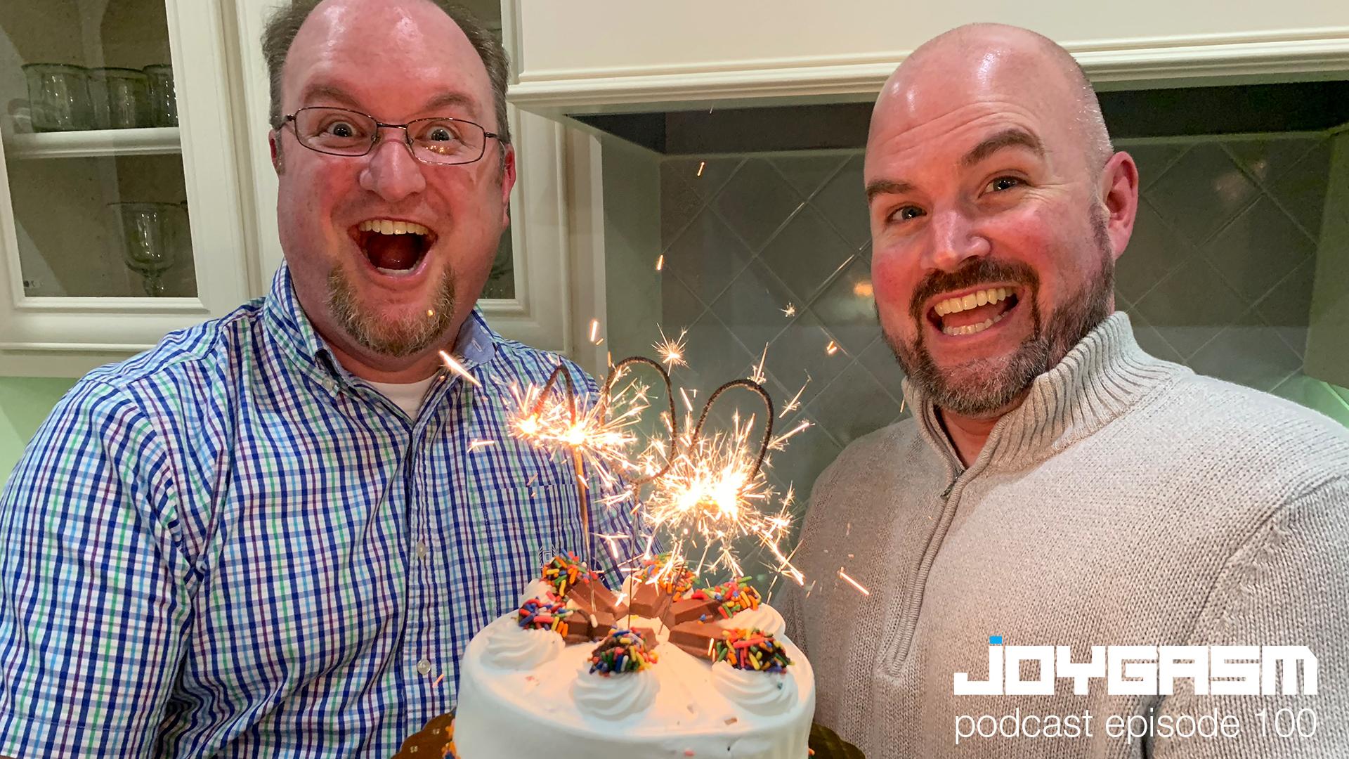 Ep. 100: Achievement Unlocked – Celebrating Our 100th Episode!